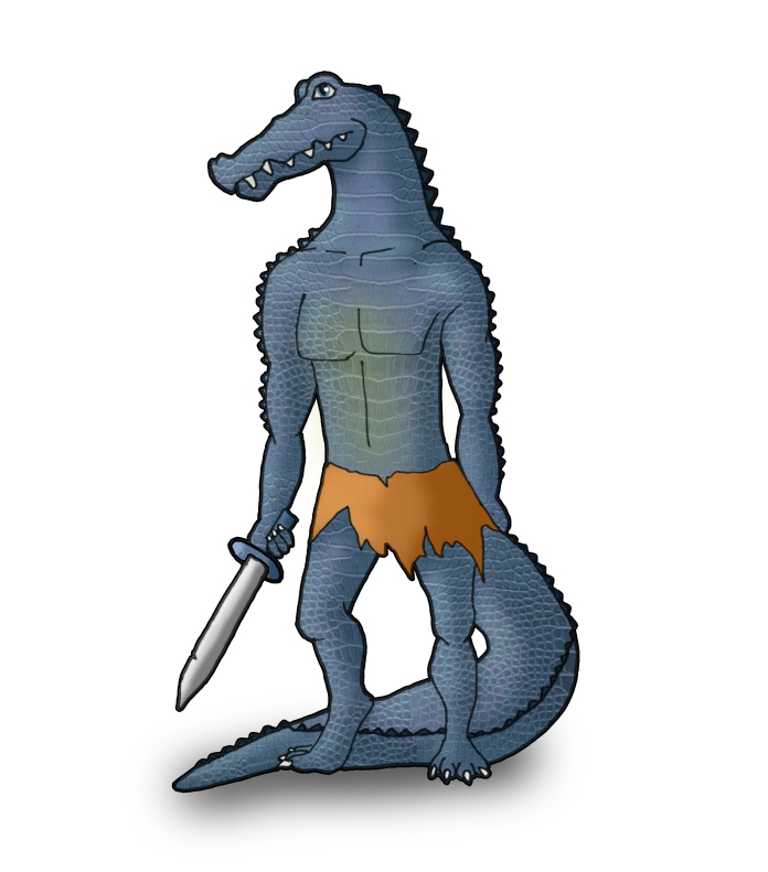 Blue Croc