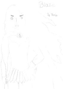 Blaze sketch