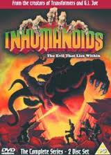 inhumanoids dvd