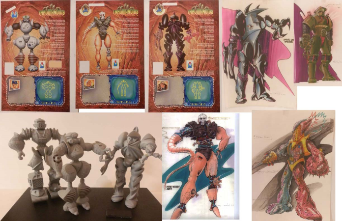inhumanoids prototypes