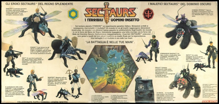 Sectaurs toys