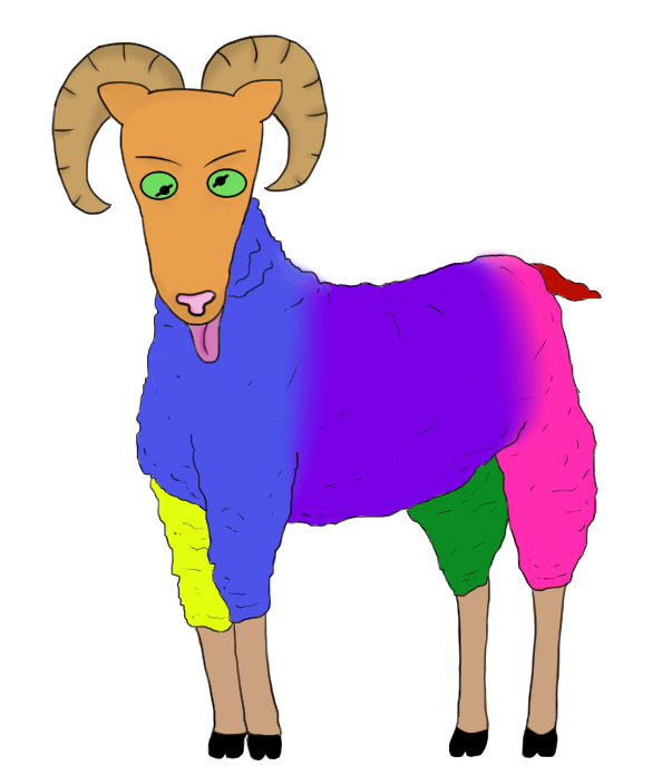 sheep lunatic